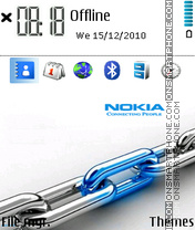 Nokia 7238 theme screenshot