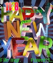 Happy New Year 2016 es el tema de pantalla