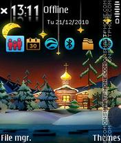 Christmas 06 es el tema de pantalla