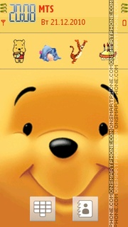 Pooh 07 theme screenshot