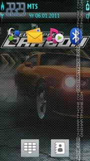 NFS C theme theme screenshot