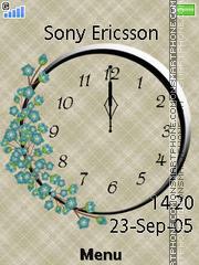 Clock es el tema de pantalla
