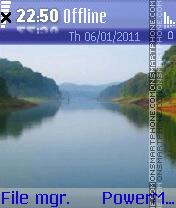 Amajola river es el tema de pantalla