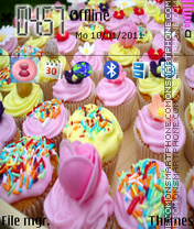 Cakes theme screenshot