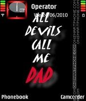 Call Me dad es el tema de pantalla