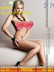 Sexy model26 theme screenshot