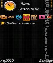 NEW BLACK 2011 es el tema de pantalla