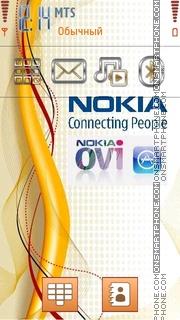 Capture d'écran Nokia Gold 01 thème