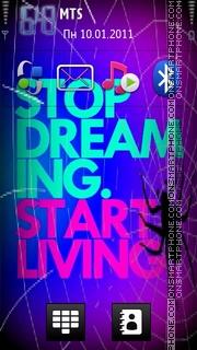Stop Dreming es el tema de pantalla