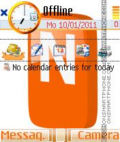 Nimbuzz theme theme screenshot