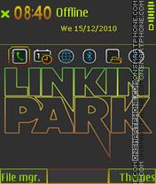 Linkin park 5803 theme screenshot