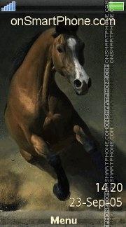 Horse 05 es el tema de pantalla