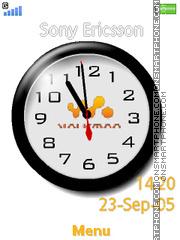 Walkman Clock 01 es el tema de pantalla