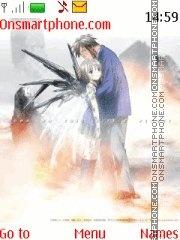 Saikano Chise X Shuji es el tema de pantalla