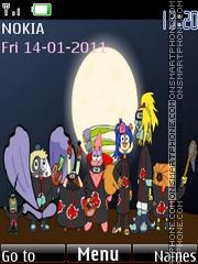 Akatsuki Bob Esponja theme screenshot
