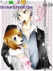 Anime couples theme screenshot