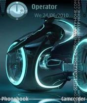 Neon Tron es el tema de pantalla