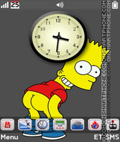 Simpsons es el tema de pantalla