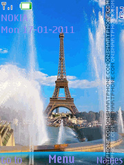 France theme screenshot