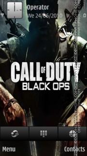 Call of Duty: Black Ops theme screenshot