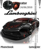 Lamborghini 2011 theme screenshot