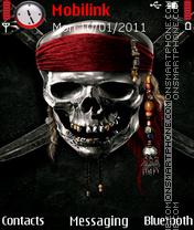 Pirates of caribbean 5 theme es el tema de pantalla