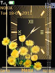 Sun Clock theme screenshot