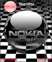 Animated Nokia theme screenshot