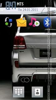 Land Cruiser 200 theme screenshot