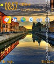 Silence Town theme screenshot