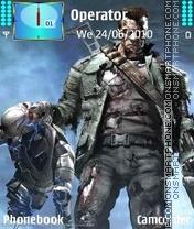 Terminator New es el tema de pantalla