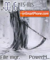 Death Man Animated theme screenshot