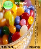 Sweets es el tema de pantalla