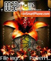 Orangeflower theme screenshot