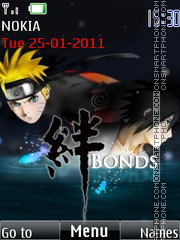 Naruto Sasuke Bonds theme screenshot