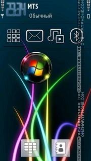 Windows Abstract theme screenshot
