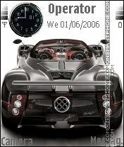 Zonda F Roadster es el tema de pantalla