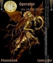 Golden Angel es el tema de pantalla