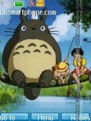Tonari no Totoro theme screenshot
