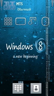 Windows 8 New tema screenshot