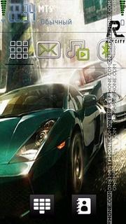 Nfs Car 05 es el tema de pantalla
