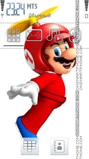 Super Mario 09 theme screenshot