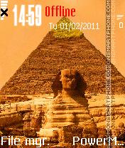 Piramides es el tema de pantalla