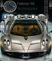 Pagani Huayra es el tema de pantalla