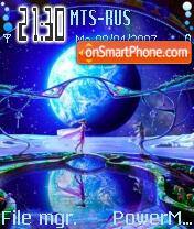 Earthlight es el tema de pantalla