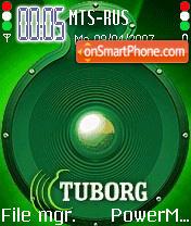 Tuborg Animated theme screenshot