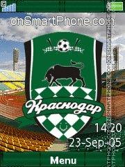 FC Krasnodar C902 es el tema de pantalla