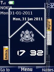 Capture d'écran Marlboro Battery thème
