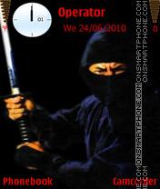 Ninja San es el tema de pantalla
