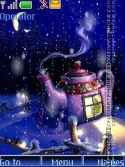 Winter swf tema screenshot
